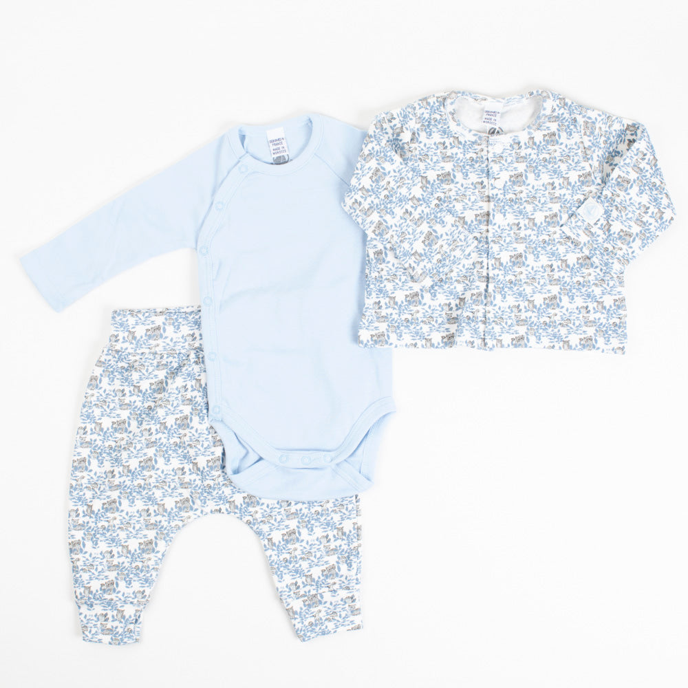 Blue Woodland Set