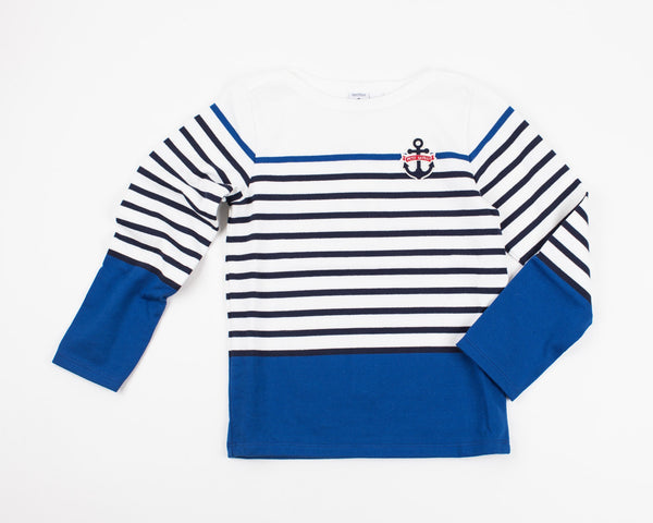 Breton Stripe Colorblock Shirt