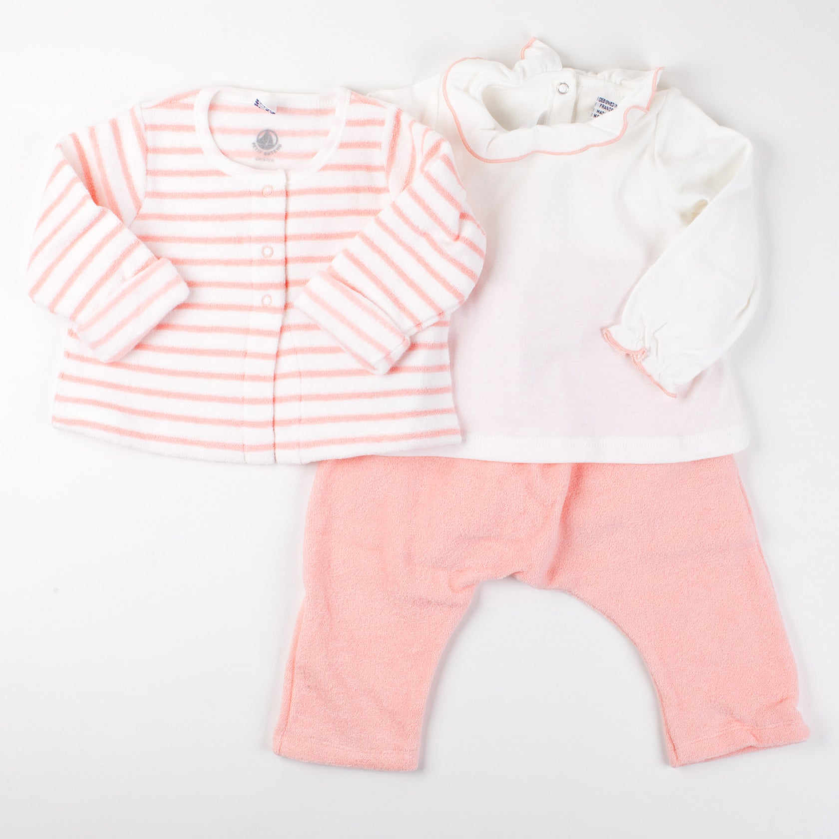 Coral Terry Set