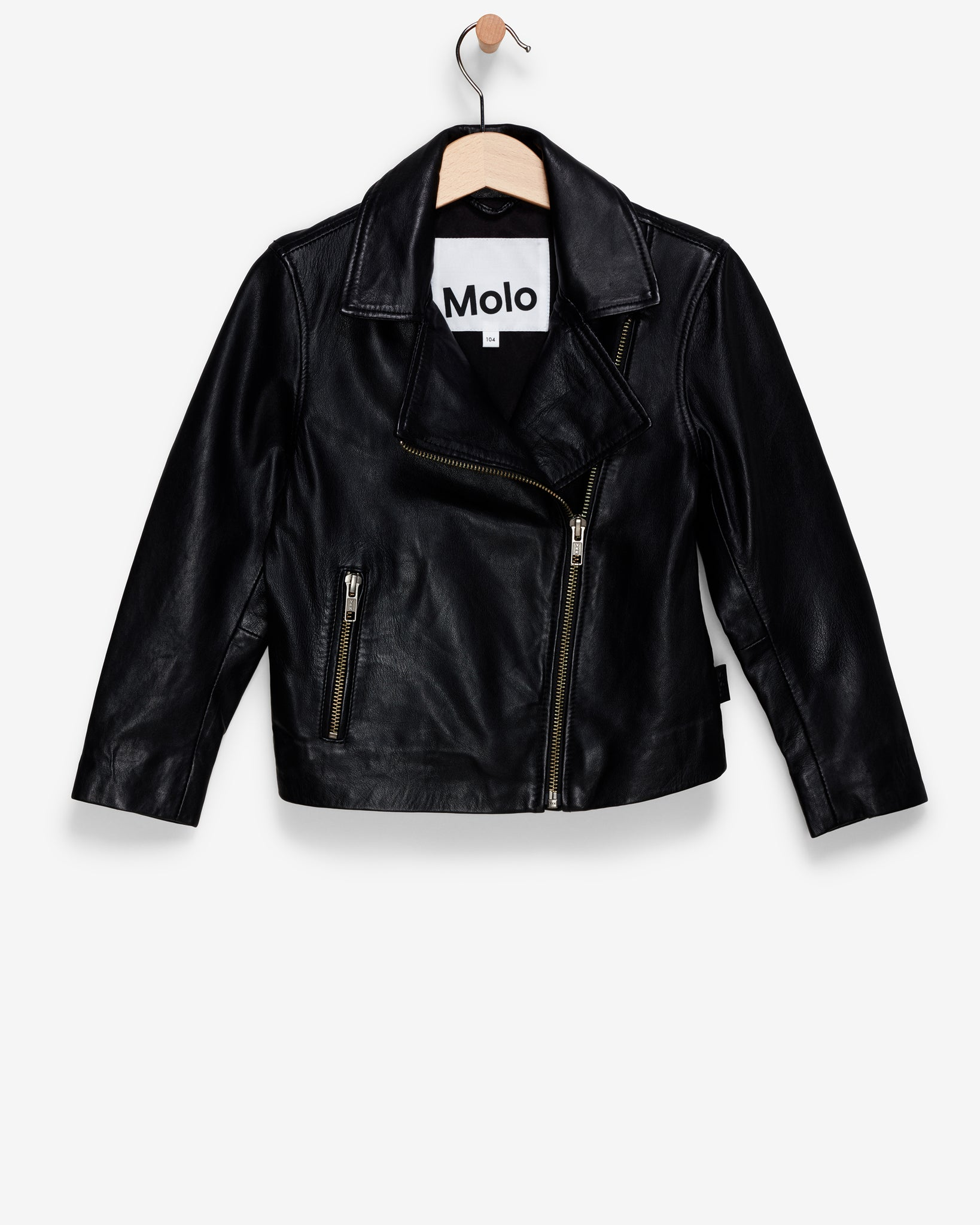 Moto Style Leather Jacket