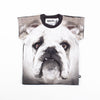 Black and White Bulldog Tee