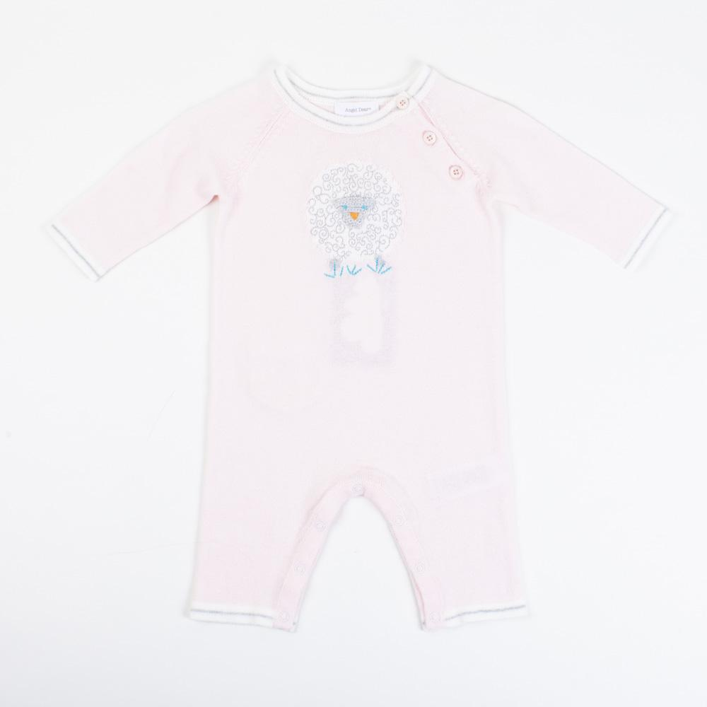 Pink Sheep Knit Coverall