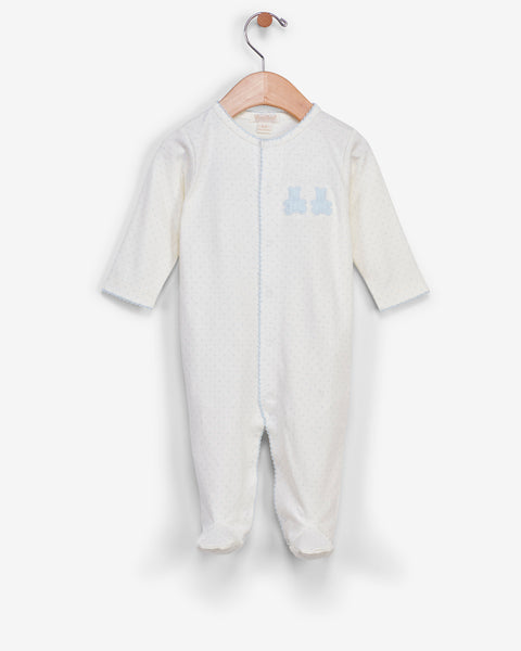 Organic Dot Bear Pajamas