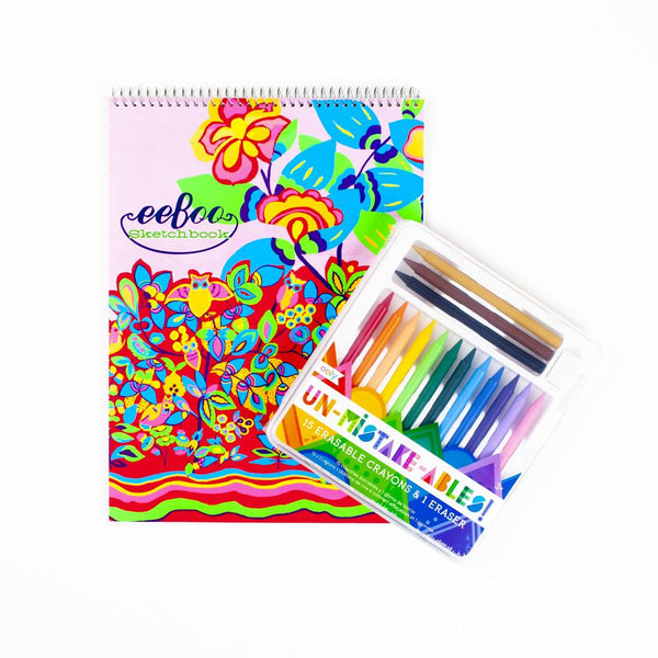Eraseable Crayon Coloring Pack