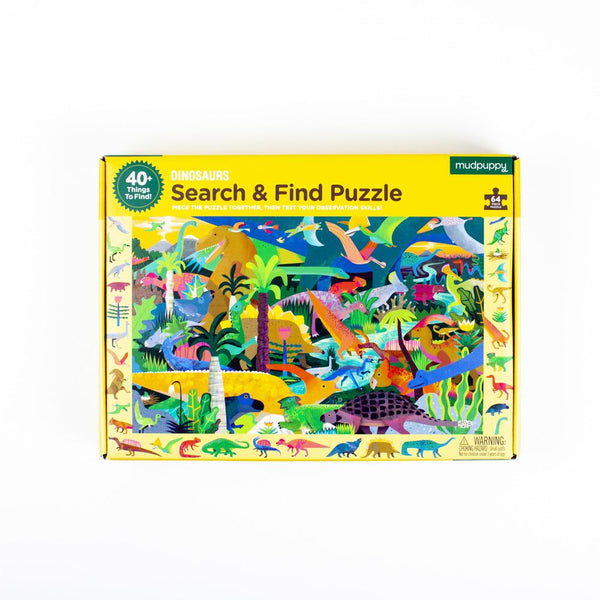 Dinosaurs Search and Find Puzzle