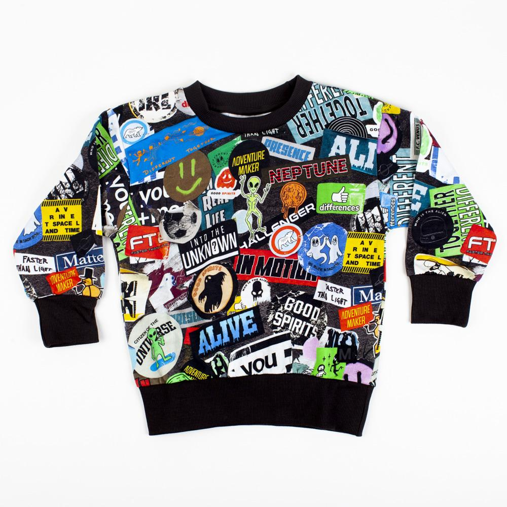 Stickers Sweatshirt