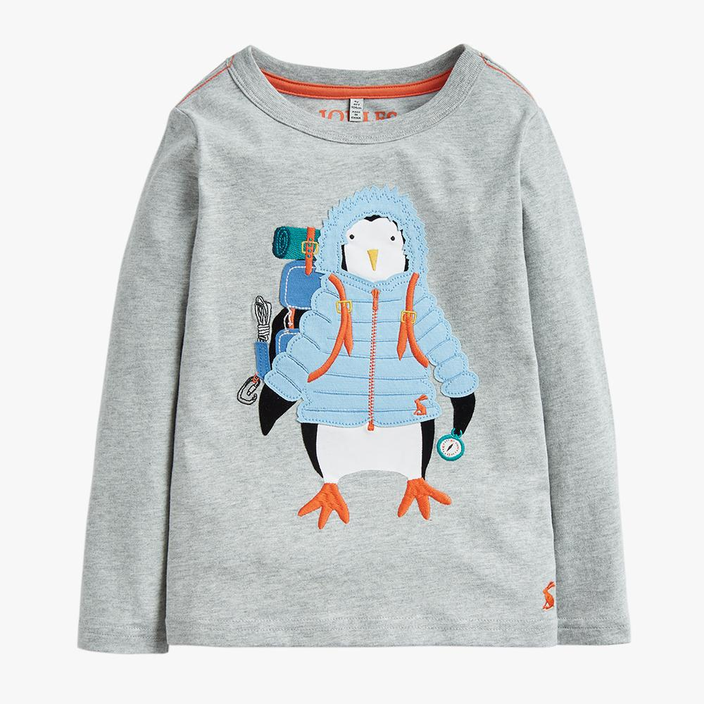 Grey Penguin Shirt
