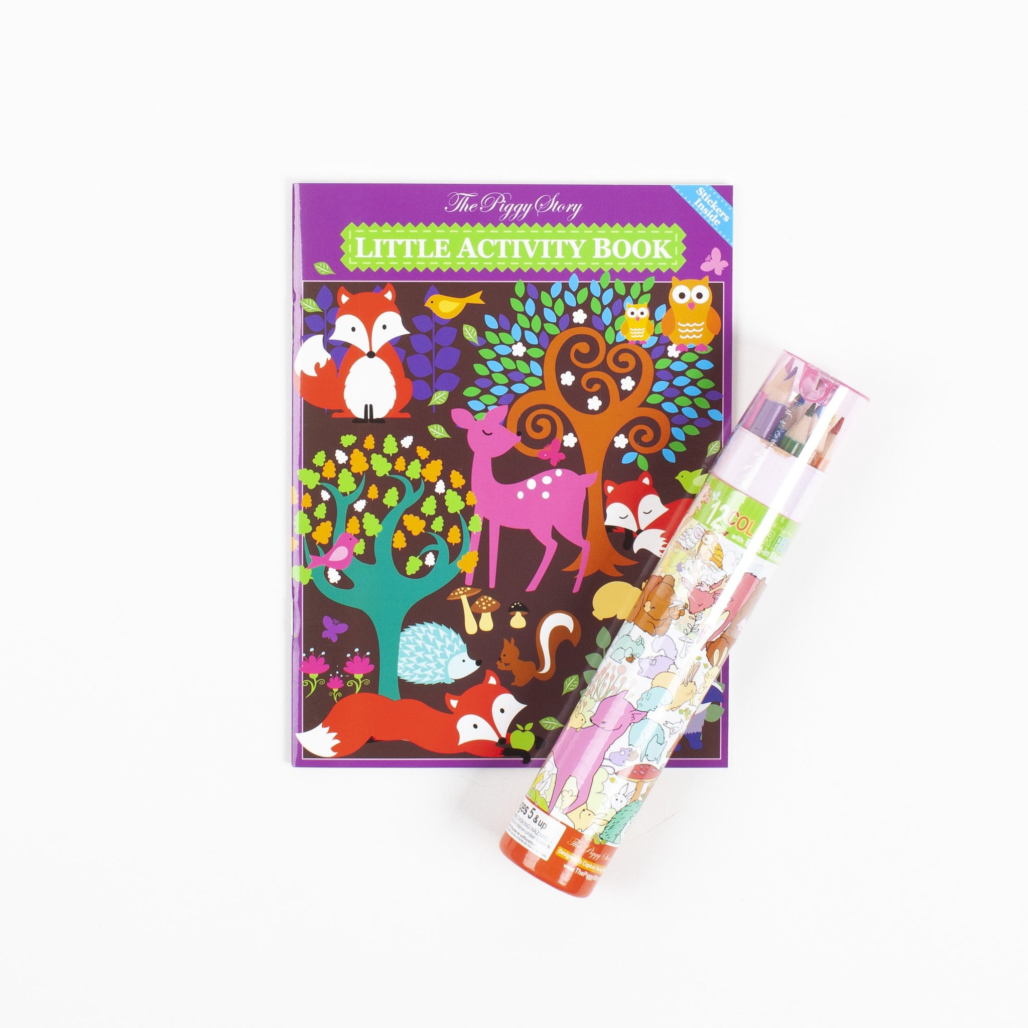 Woodland Activity Book Set
