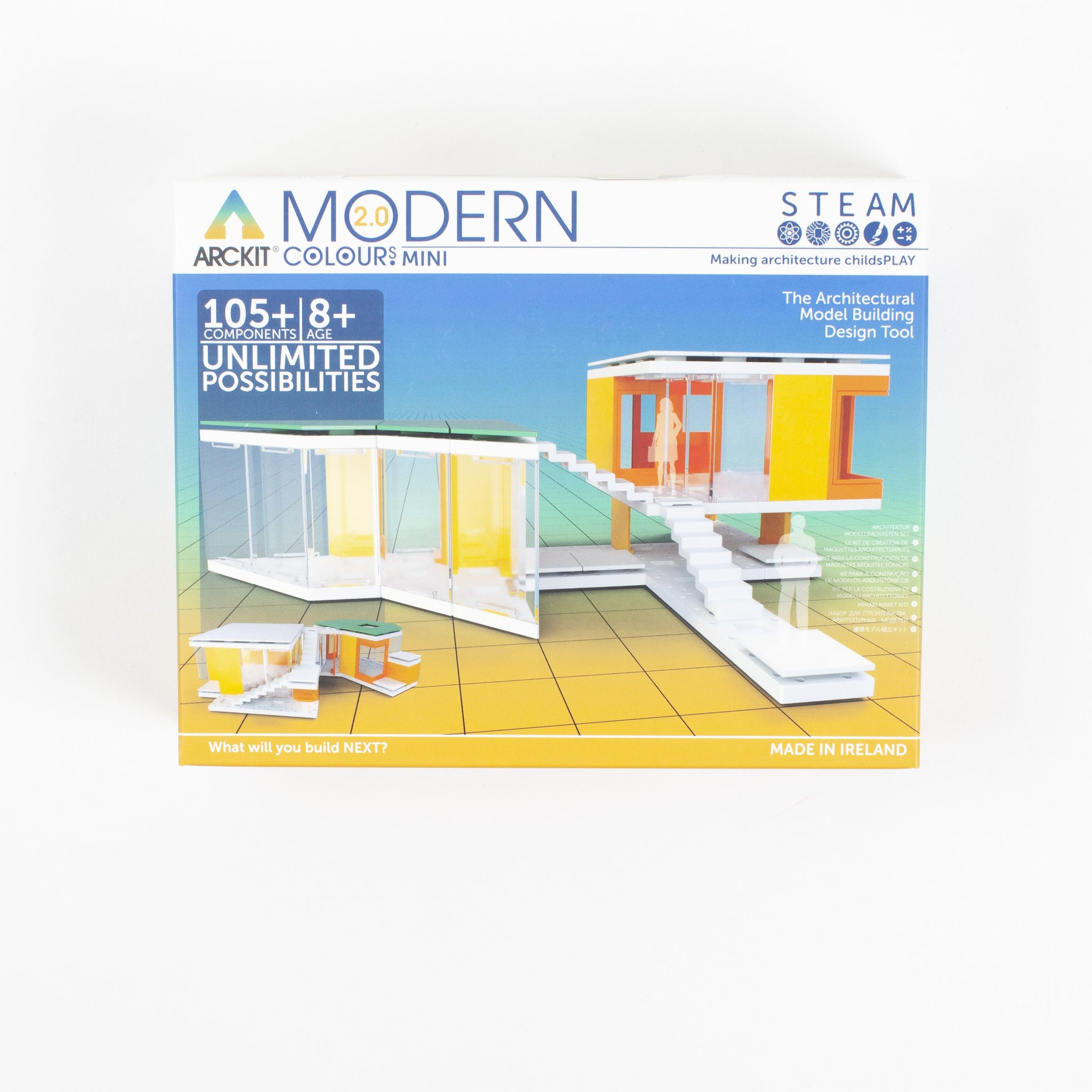 Mini Modern Colours Architectural Model Kit
