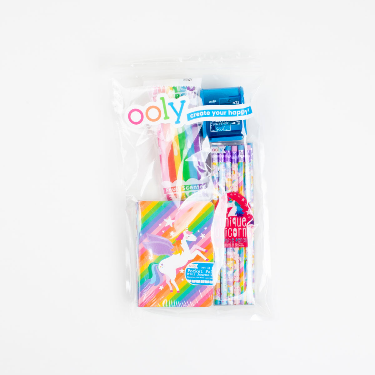Rainbow Unicorn Activity Pack