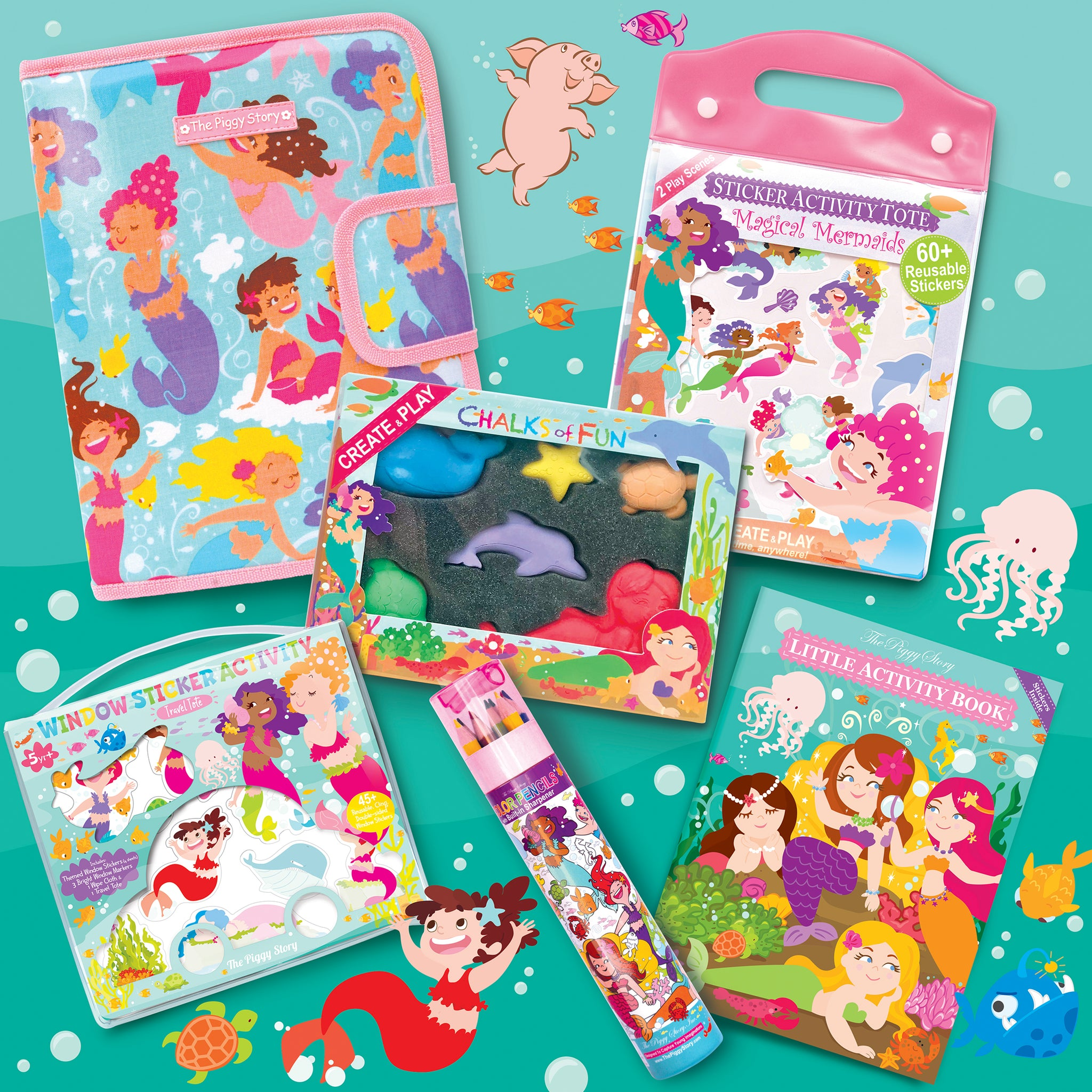 Magical Mermaids Activity Bundle