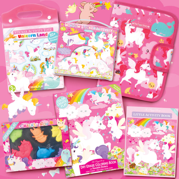 Unicorn Land Activity Bundle