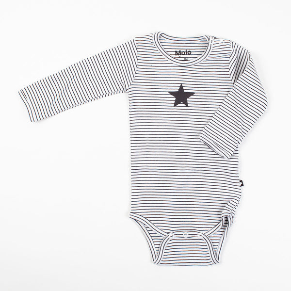 Black Stripe Onesie