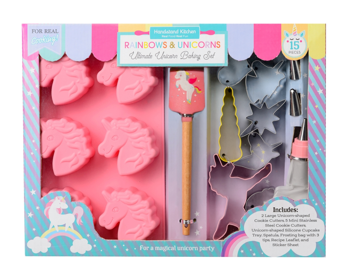 Rainbows and Unicorns Baking Set