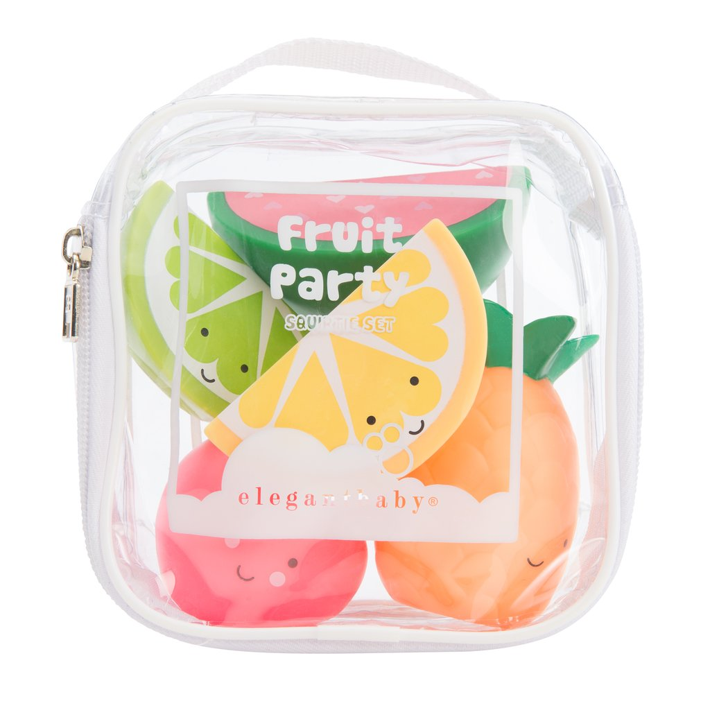 Fruit Party Bath Toys