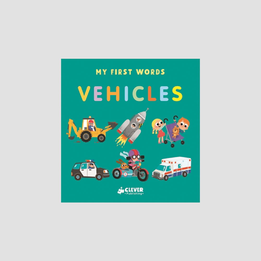 My First Words: Vehicles