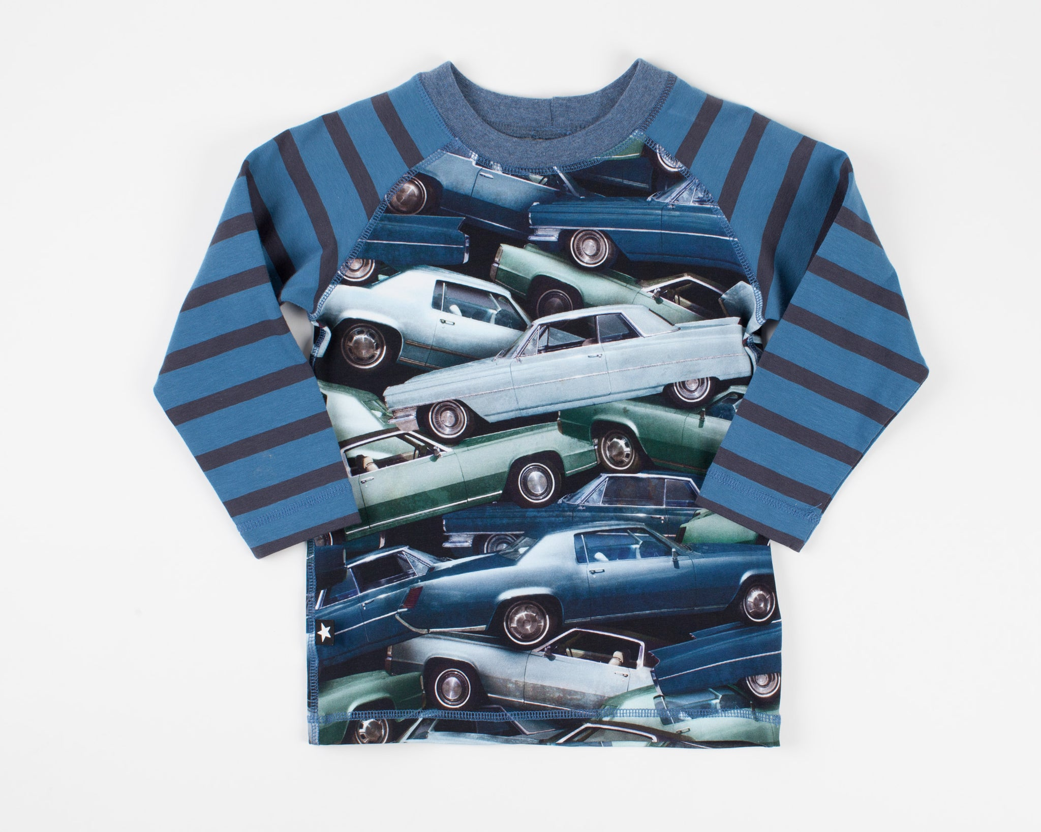 Stacked Cars Long Sleeve