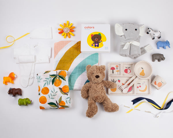 The Ultimate Baby Shower Bundle - 6 Month of Gifts