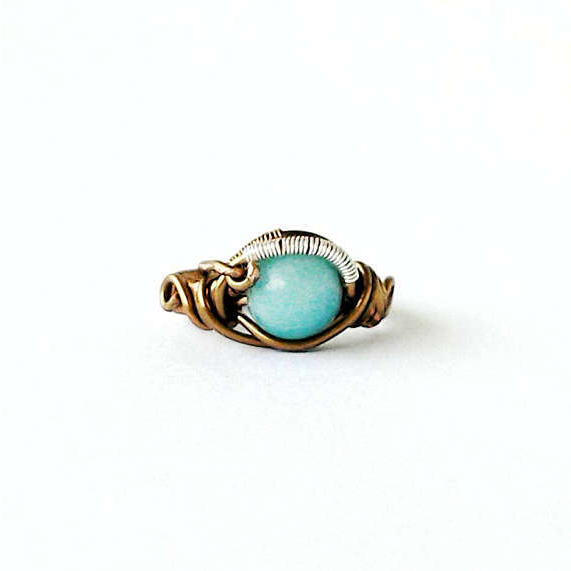 Gorgeous Amazonite Ring