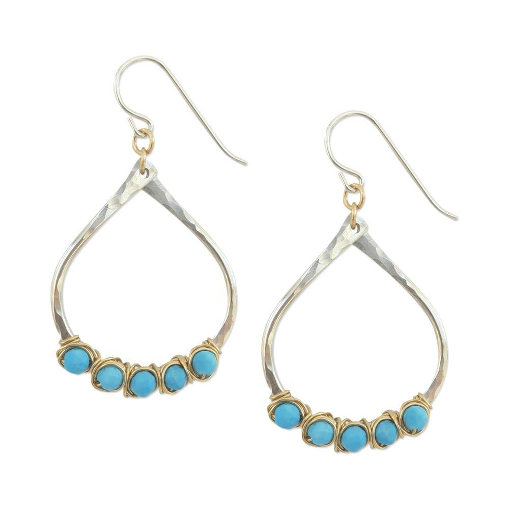 Aria Earrings in Turquoise