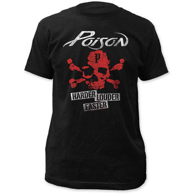 Poison Harder Faster Louder T-Shirt