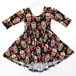 Sugar Skull Twirl Dress
