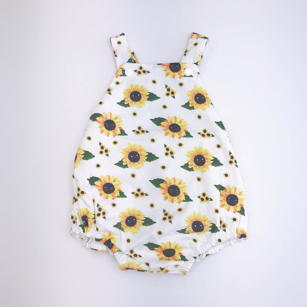Kawaii Sunflowers Romper