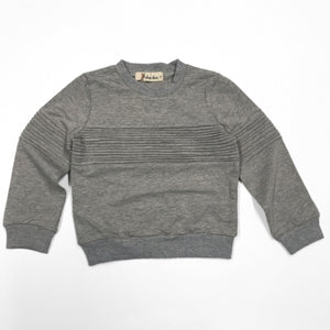 Long Sleeve Jersey Crew Neck Sweater