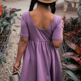 Lavender Twirl Dress