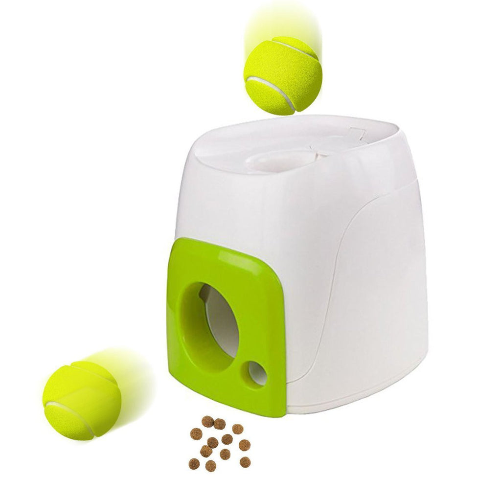Dog Toy Reward Machine Trainning Tennis Baseball  Interactive Fetch Ball Pet Funny Small Animals Toys Cat Training Tool