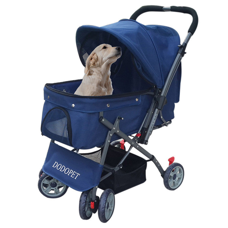 Pet Stroller for Dog Pet Carrier Dog Stroller Cat Dog Carrier Puppy Cat Stroller Breathable Sunshade Cat Carrrier Travel Product