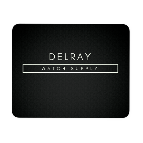 Delray Watch Supply Mousepad - Black