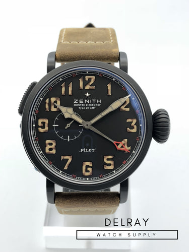Zenith Pilot Montre d Aeronef Type 20 GMT 1903 *Limited Edition*