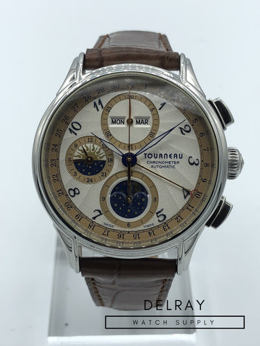 Tourneau Triple Date Moonphase Chronograph