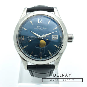 Ball Engineer II Ohio Moonphase Blue Dial