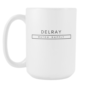 Delray Watch Supply Mug - White