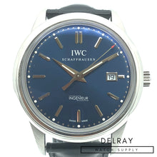 IWC Ingenier Vintage Collection Laureus Edition Blue Dial