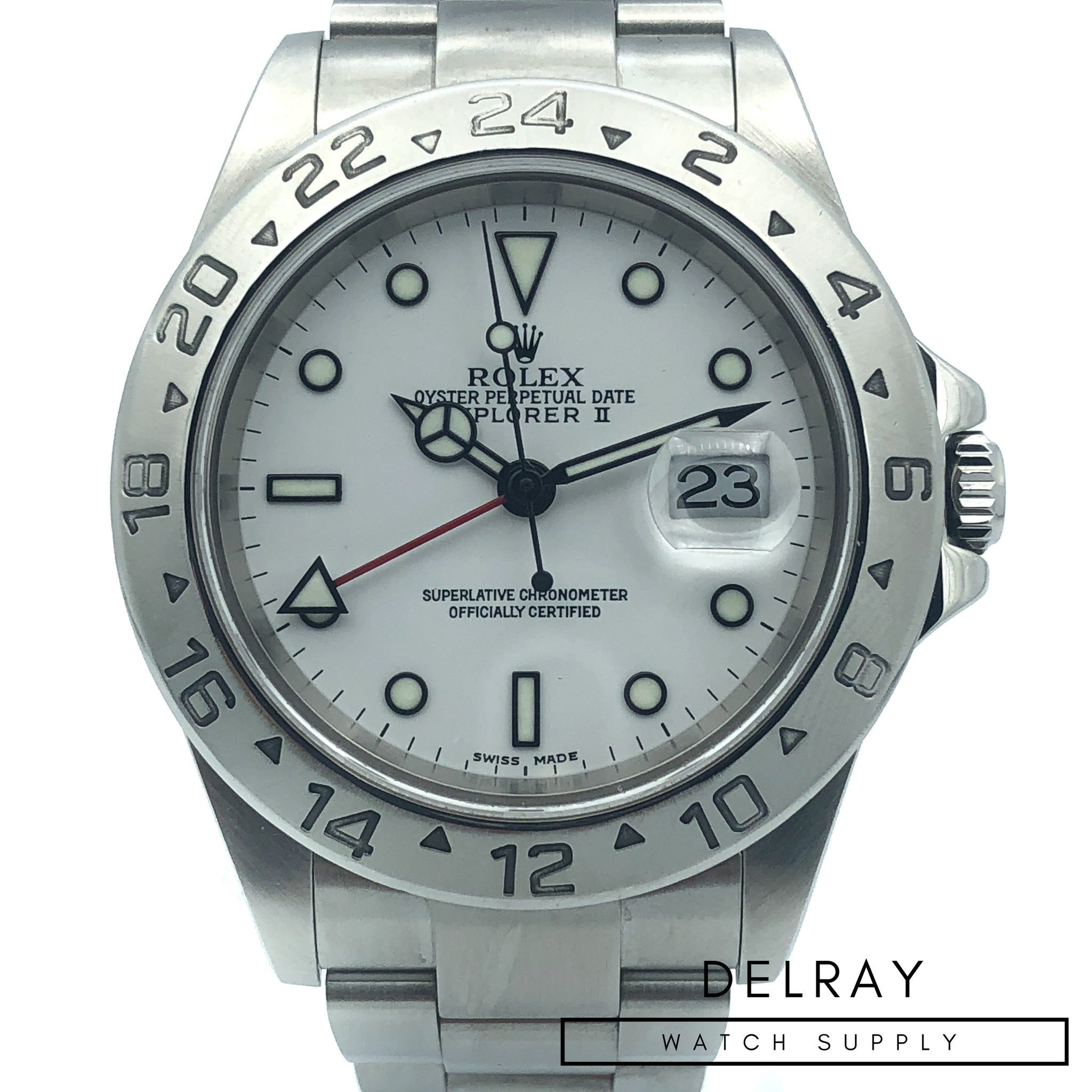 fine stainless watches explorer steel second watchcollectors uk hand rolex product ii london collectors co watch next