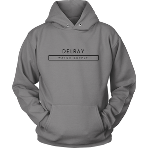 Delray Watch Supply Hoodie - Black Logo