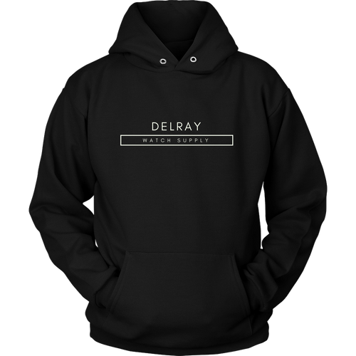 Delray Watch Supply Hoodie - Off White Logo