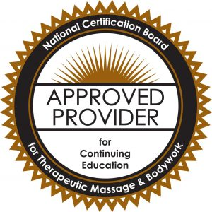 National Certification Board for Therapeutic Masage & Bodywork Approved Provider