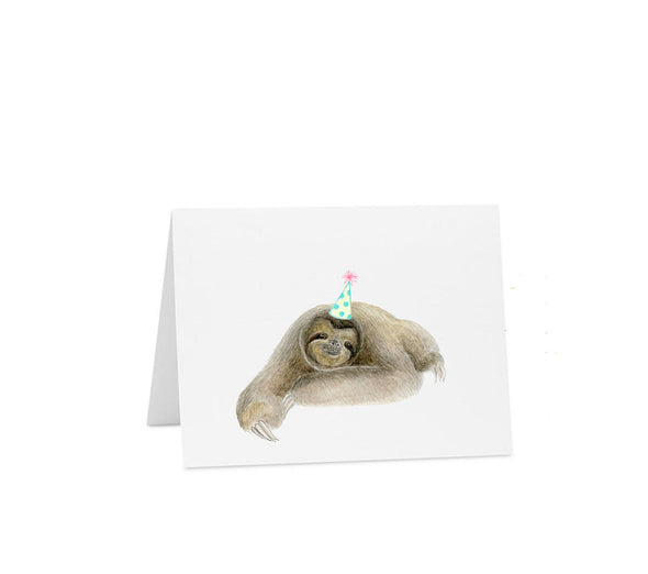 Birthday: Sloth Hat