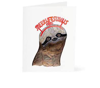 Holiday: Sloth Merry Festivus
