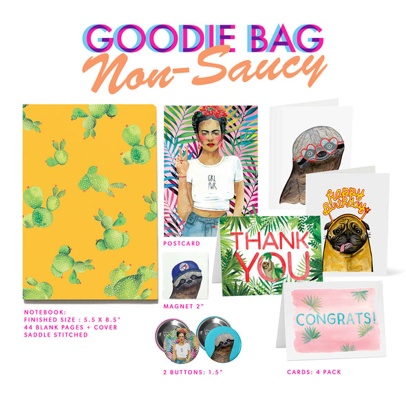 Limited Edition: Goodie Bag (Non-Saucy)