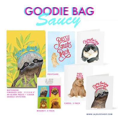 Limited Edition: Goodie Bag (Saucy) Holiday