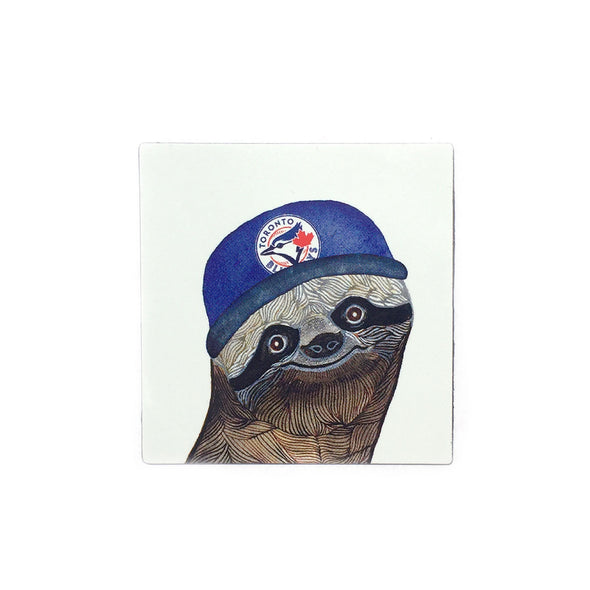Magnet: Sloth Blue Jays