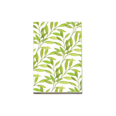 Pattern: Leaves Notebook