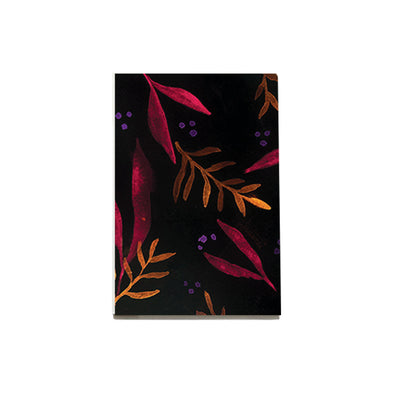 Pattern: Night Flora Notebook