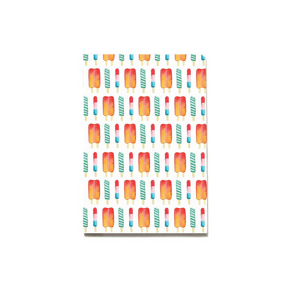 Pattern: Popsicle Notebook