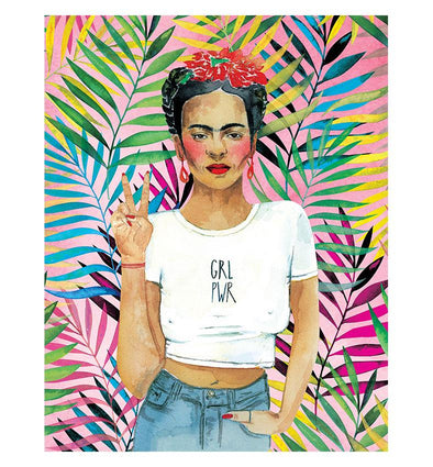 Prints & Postcards: Frida K Print Portrait
